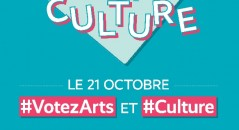 #Votezarts 21 octobre