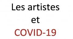 COVID-19 et artistes